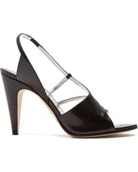 Givenchy - Show Line Leather High-heel Sandals - Lyst