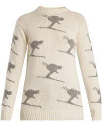 Fusalp | Carving Wool-blend Performance Sweater | Lyst
