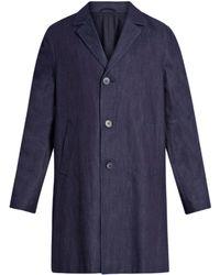 Raey | Three-button Denim Coat | Lyst