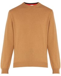 Paul Smith - Crew Neck Cashmere Sweater - Lyst