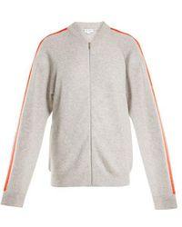 Amanda Wakeley - Zip-through Cashmere Sweater - Lyst