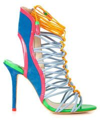Sophia Webster - Lacey Leather Sandals - Lyst