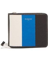 Balenciaga - Bazar Zip Around Leather Wallet - Lyst