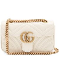 Gucci - Gg Marmont Mini Quilted Leather Cross Body Bag - Lyst