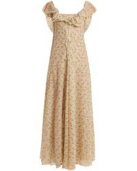 Brock Collection - Dora Floral-print Tulle Dress - Lyst