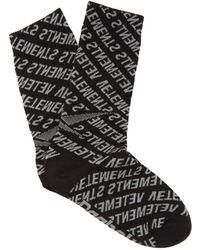 Vetements - X Reebok Socks - Lyst