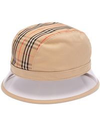 Burberry - 1983 Vintage Check Bucket Hat - Lyst