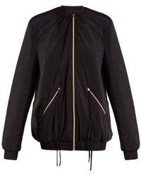 Charli Cohen - Bomber 2s Oversized Jersey Performance Jacket - Lyst