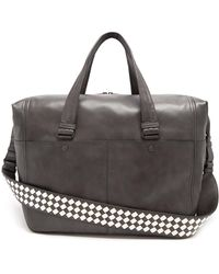 Bottega Veneta - Intrecciato-strap Leather Holdall - Lyst