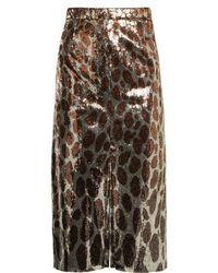 Marco De Vincenzo - Sequin-embellished Midi Skirt - Lyst