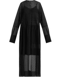 JOSEPH - Odette Patchwork Broderie Anglaise Dress - Lyst