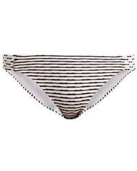 Biondi - Casablanca Striped Bikini Briefs - Lyst