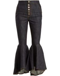 Ellery - Hysteria High Rise Kick Flare Jeans - Lyst