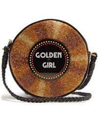 Sarah's Bag | Golden Girl Embellished Crossbody Bag | Lyst