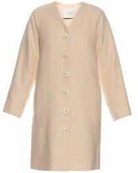 Adam Lippes - Single-breasted Cotton Coat - Lyst
