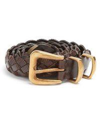 Brunello Cucinelli - Braided Leather Belt - Lyst