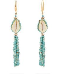 Isabel Marant - Seashell Tassel-earrings - Lyst
