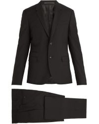 Valentino - Notch-lapel Wool-blend Suit - Lyst