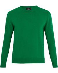 Allude - Crew-neck Cashmere Sweater - Lyst