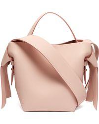 Acne Studios - Musubi Small Leather Bucket Bag - Lyst