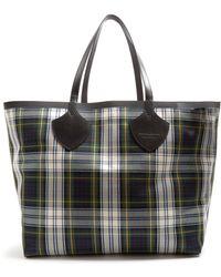 Burberry | Tartan Reversible Tote Bag | Lyst