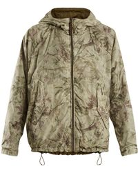 Woolrich | Reversible Palm-print Lightweight Jacket | Lyst