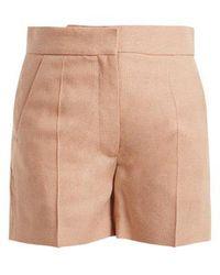 JOSEPH - Windsor Slim Shorts - Lyst