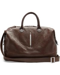 Passavant and Lee - Scier Leather Holdall - Lyst