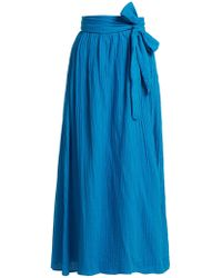 Mara Hoffman - Katrine Organic-cotton Wrap Skirt - Lyst