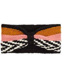 Missoni - Striped Knitted Headband - Lyst