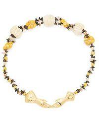 Heimat Atlantica - - Eloise Shell Embellished Necklace - Womens - Multi - Lyst