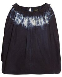 Rachel Comey - - Antic Tie Dye Cropped Top - Womens - Blue White - Lyst