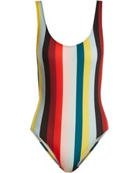 Solid & Striped - The Anne Marie Striped Swimsuit - Lyst