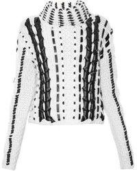 Altuzarra - Caravan Contrast Roll-Neck Wool Sweater - Lyst