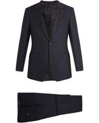 Kilgour - Birdseye Single-breasted Wool Suit - Lyst
