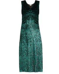 MASSCOB - Laurent Dress In Evergreen - Lyst