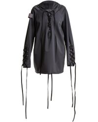 Charli Cohen | Renegade Lace-up Shell Jacket | Lyst