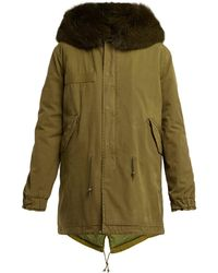 Mr & Mrs Italy - Hooded Cotton-canvas Parka - Lyst