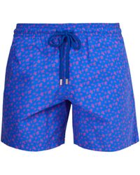Vilebrequin - Moorea Micro Turtles Print Swim Shorts - Lyst
