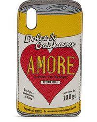 Dolce & Gabbana - Amore-print Iphone® X Case - Lyst