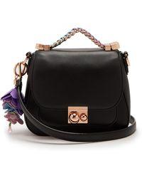 Sophia Webster - Eloise Flower-charm Top-handle Leather Bag - Lyst