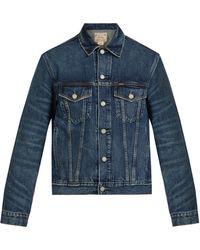 Polo Ralph Lauren - Washed Denim Jacket - Lyst