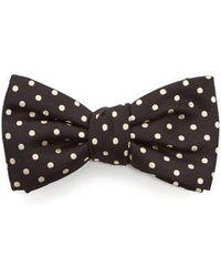 Alexander McQueen - Polka-dot Jacquard Bow Tie - Lyst