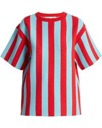 Diane von Furstenberg - Milano Striped Sweater - Lyst