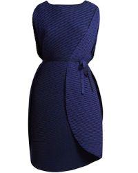 Issey Miyake - Sunlight Pleated Midi Dress - Lyst