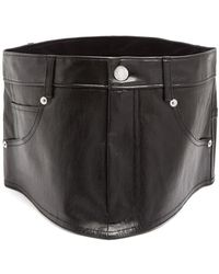 Helmut Lang - Stretch-leather Waist Belt - Lyst