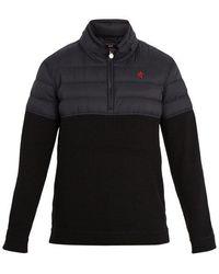 Perfect Moment - Après Half-zip Nylon And Wool Sweater - Lyst