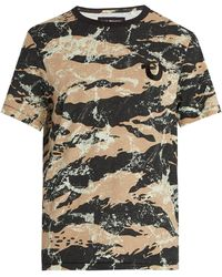 True Religion - Camouflage Print Cotton T Shirt - Lyst