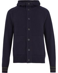 Tomas Maier - Hooded Wool Cardigan - Lyst