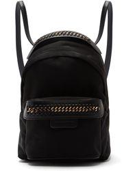 Stella McCartney - Falabella Go Mini Nylon Backpack - Lyst